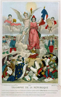 Triumph of the Republic, 1875 von French School