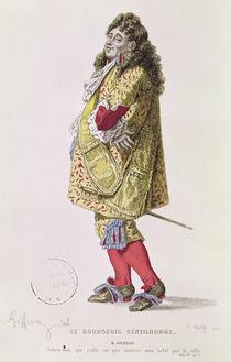 'Follow me, that I might a little show my dress about the town' von Edmond A.F. Geffroy