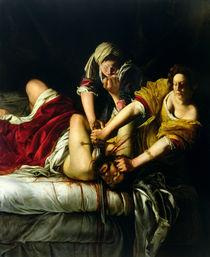 Judith and Holofernes, 1612-21 von Artemisia Gentileschi