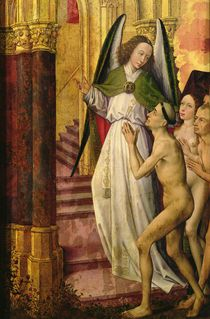 The Good being led to Heaven von Rogier van der Weyden