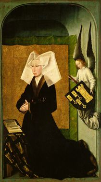 Guigone de Salins, wife of the donor von Rogier van der Weyden