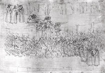 Purgatory, from 'The Divine Comedy' by Dante Alighieri c.1480 by Sandro Botticelli