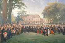 Reception of the Mayors of France at the Elysee Palace von Fernand Cormon
