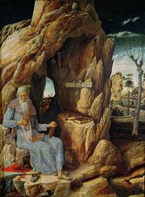 St. Jerome von Andrea Mantegna