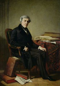 Portrait of Jules Michelet von Thomas Couture