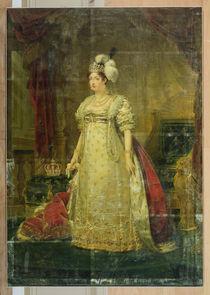 Portrait of Marie-Therese-Charlotte de France Duchesse d'Angouleme von Baron Antoine Jean Gros