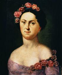 Portrait of Avdotia Istomina by Russian School
