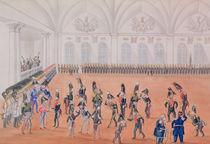 Guard Parade, 1820s von Russian School