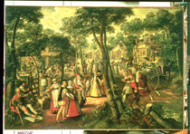 Country Celebration, 1563 von Joachim Beuckelaer or Bueckelaer