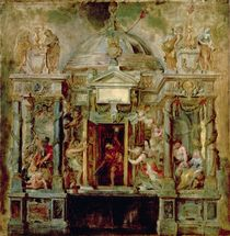 Temple of Janus, 1630s von Peter Paul Rubens