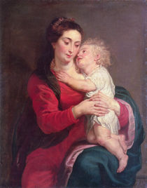 Virgin with Child von Peter Paul Rubens