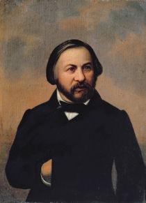Portrait of Mikhail Ivanovich Glinka von Russian School