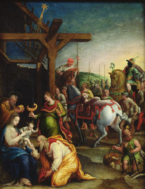 The Adoration of the Magi, late 16th century by Lavinia Fontana