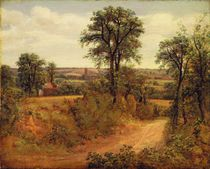 A Lane near Dedham, c.1802 by John Constable