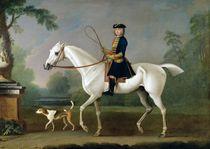 Sir Roger Burgoyne Riding 'Badger' von James Seymour
