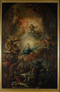 The Assumption, c.1695 by Johann Christoph Lischka