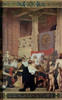 The Death of St. Genevieve von Jean Paul Laurens
