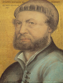 Self Portrait, 1542 by Hans Holbein the Younger