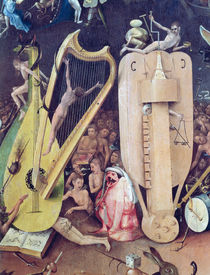 The Garden of Earthly Delights: Hell by Hieronymus Bosch