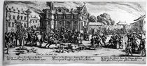 The Destruction of a Monastery by Jacques Callot