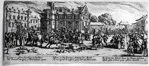 The Destruction of a Monastery von Jacques Callot