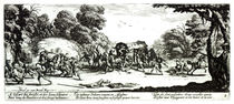 The Attack on the Stagecoach by Jacques Callot