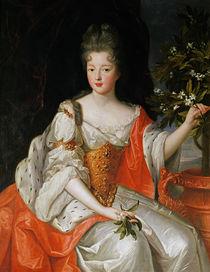 Portrait of Louise-Francoise de Bourbon late 17th century von French School