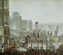 The Execution of Georges Cadoudal and his Accomplices by Armand de Polignac