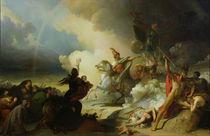 Saladin I in Jerusalem, c.1830-50 von Alexandre Evariste Fragonard