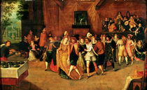 Ball during the Reign of Henri III by French School
