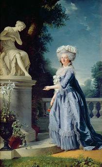 Portrait of Marie-Louise Victoire de France by Adelaide Labille-Guiard