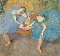 Two Dancers at Rest or, Dancers in Blue von Edgar Degas