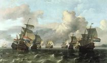 The Dutch Fleet of the India Company by Ludolf, I Backhuysen