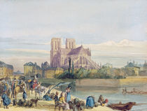 Notre Dame, Paris by Thomas Shotter Boys