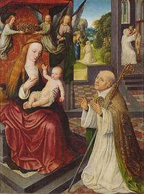 The Lactation of St. Bernard by Jan van Eeckele