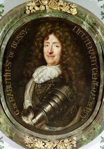 Portrait of Count Roger Bussy de Rabutin by Claude Lefebvre