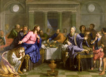 Christ in the House of Simon the Pharisee by Philippe de Champaigne