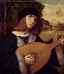 The Lute Player by Giovanni de Busi Cariani