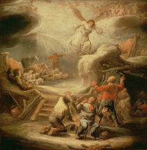 The Annunciation to the Shepherds by Benjamin Gerritsz. Cuyp