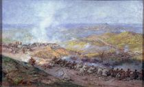 A Scene from the Russo-Turkish War in 1877-78 by Pawel Kowalewsky