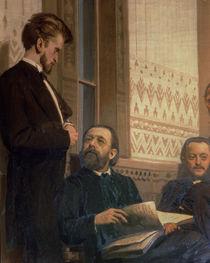 Eduard Frantsovitch Napravnik and Bedrich Smetana von Ilya Efimovich Repin