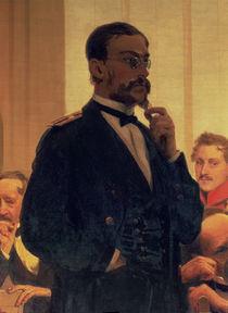 Nikolai Andreyevich Rimsky-Korsakov von Ilya Efimovich Repin