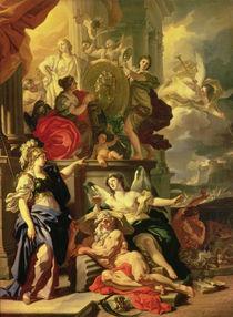 Allegory of a Reign, 1690 von Francesco Solimena