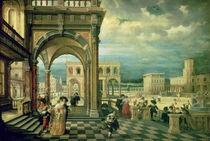 Italian Palace, 1623 von Hendrik the Younger Steenwyck