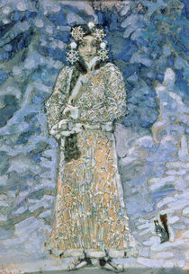 The Snow Maiden, a sketch for the Opera by Nikolai Rimsky-Korsakov von Mikhail Aleksandrovich Vrubel