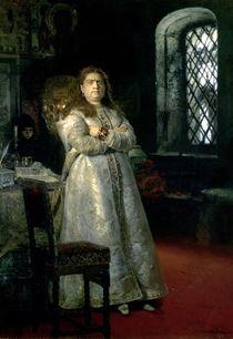 Tsarevna Sophia Alexeevna in the Novodevitchy Convent von Ilya Efimovich Repin