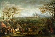 The Taking of Cambrai in 1677 by Louis XIV by Adam Frans Van der Meulen