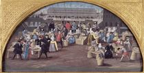 Bread and Poultry Market at Quai des Grands Augustins by French School