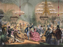 Ball in the Jardin d'Hiver by French School