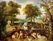 Terrestrial Paradise von Jan Brueghel the Elder